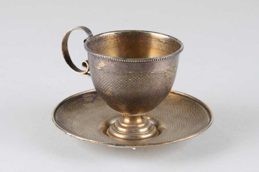 A pair of tea, 84 assay value, 1879. - photo 1