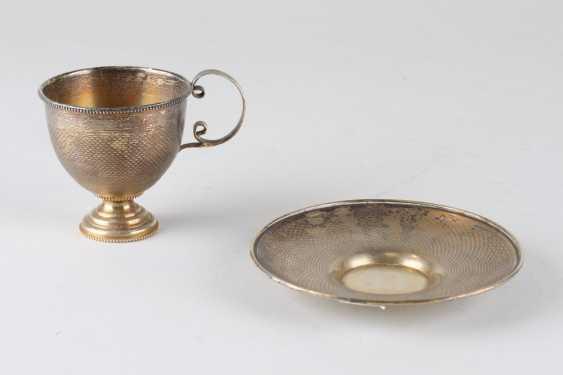 A pair of tea, 84 assay value, 1879. - photo 2