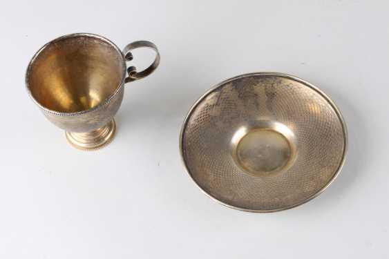 A pair of tea, 84 assay value, 1879. - photo 3