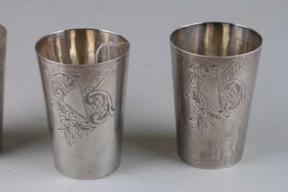 Three cups in art Nouveau style. - photo 2