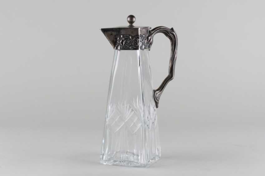 A decanter in the art Nouveau style, 84 sample. - photo 1