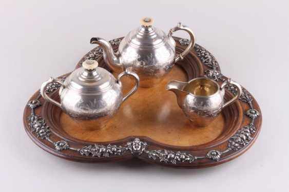 Tea set on a tray, 84 sample. - photo 1