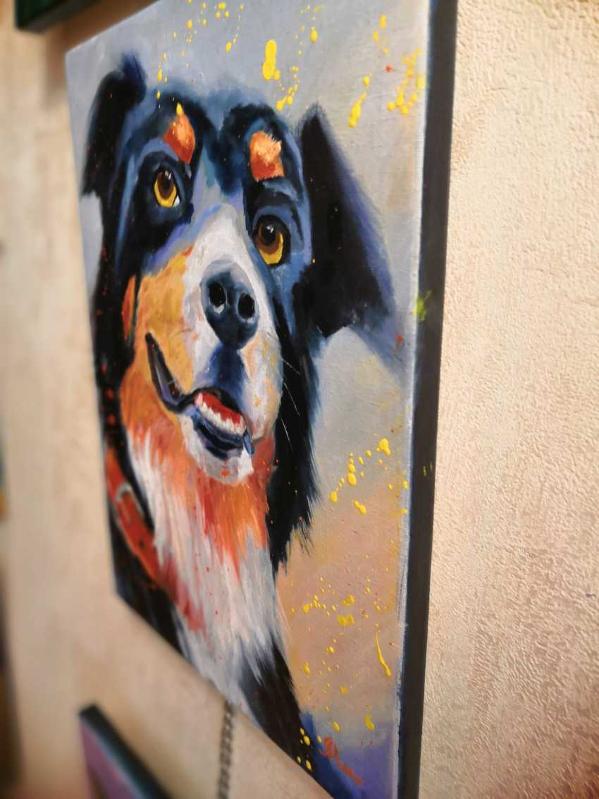 Ludmila Riabkova. Mr. Senennhund, dog art - photo 2