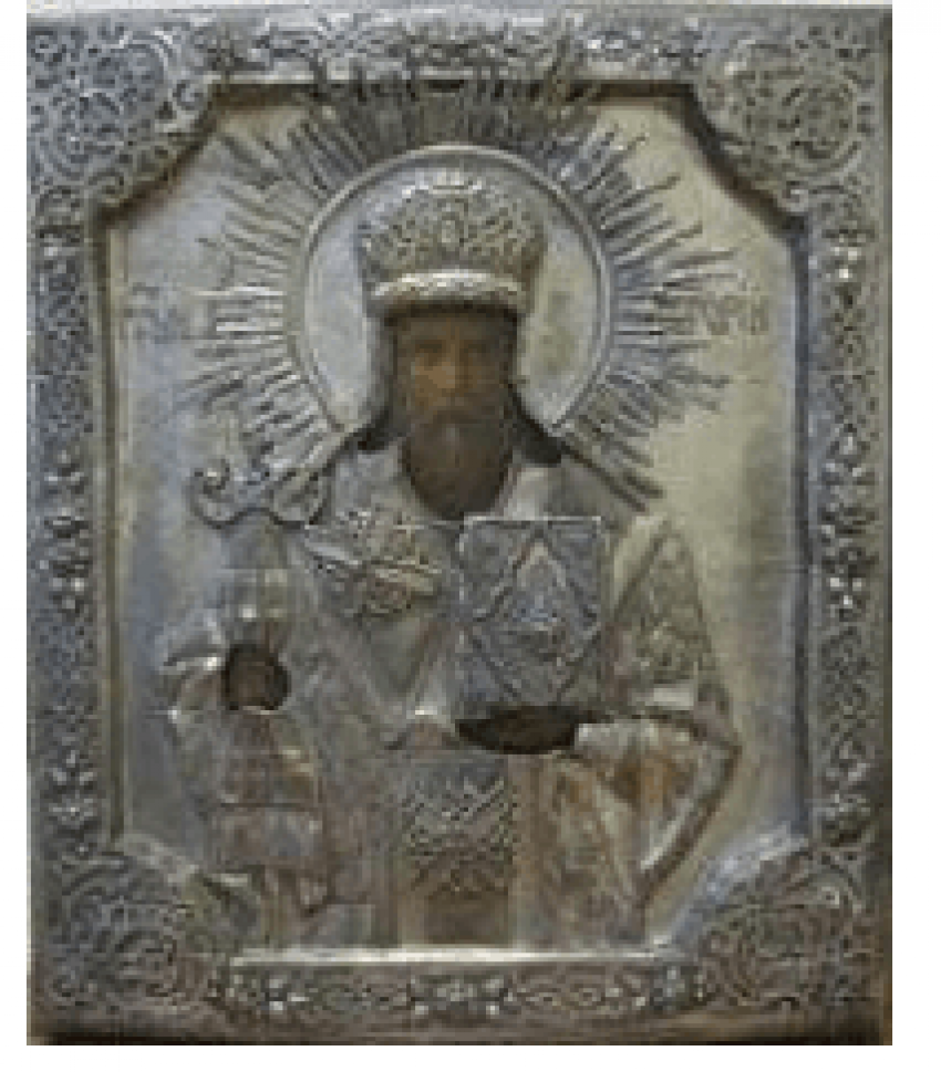 Icon of St. Gregory the XIX century - photo 1