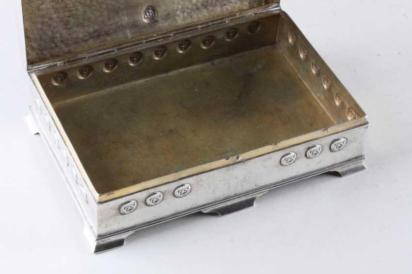 Jewelry box art Nouveau, 800 test. - photo 3