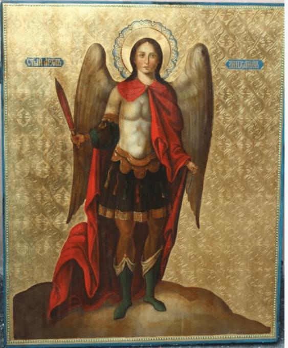 Icon of the Archangel Michael, XIX century - photo 1