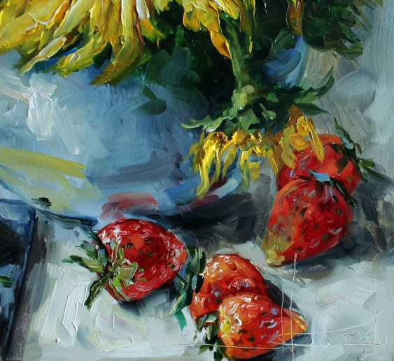 "Marina Kozlovska. ""Strawberries and sunflowers"" - photo 2"