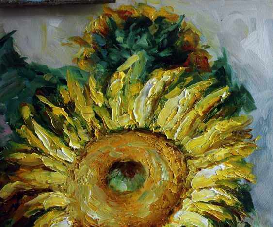 "Marina Kozlovska. ""Strawberries and sunflowers"" - photo 4"
