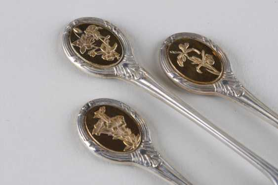 A set of teaspoons for 12 persons, 925 hallmark. - photo 4