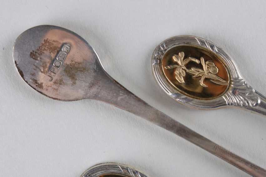 A set of teaspoons for 12 persons, 925 hallmark. - photo 5