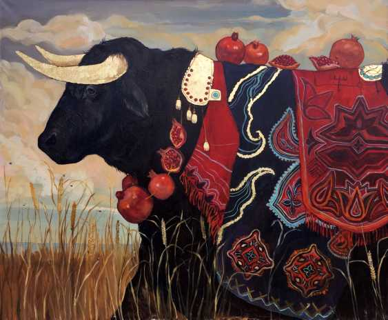 Maria Merz Muromtseva Muromtseva Merz. Black bull. POWER - photo 1