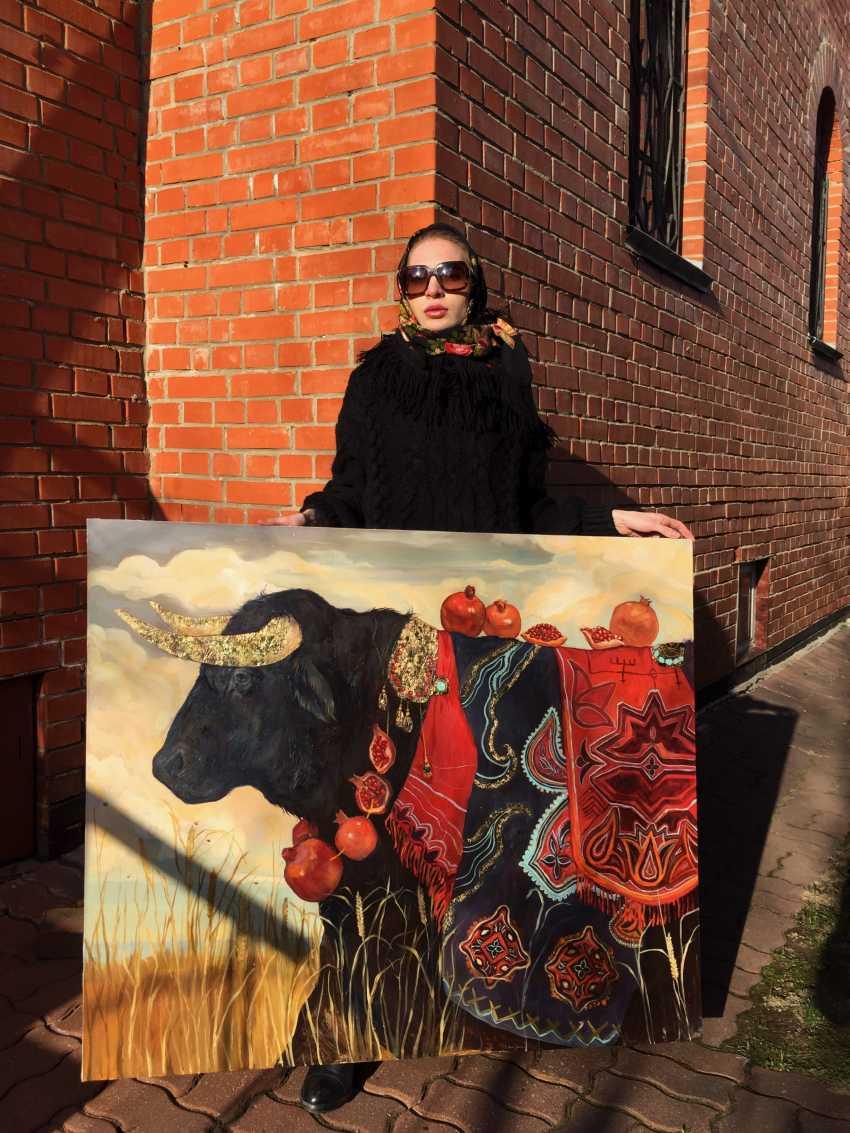Maria Merz Muromtseva Muromtseva Merz. Black bull. POWER - photo 4