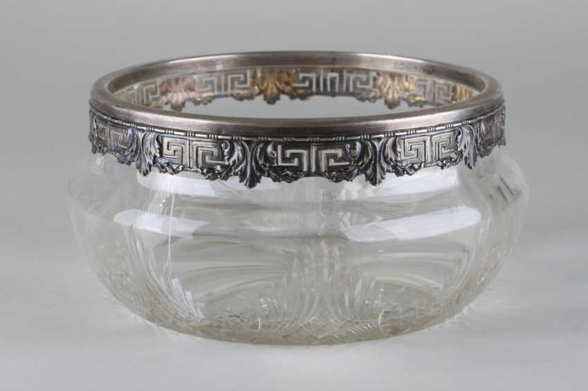 Vase with silver rim. Germany, n of the 20th century - photo 1
