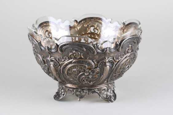 Openwork vase, silver of 800 Lazarus Posen, - photo 1