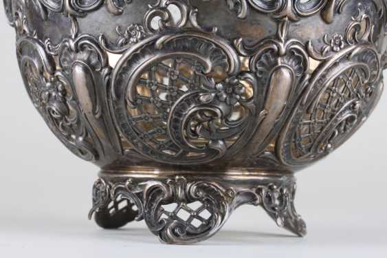 Openwork vase, silver of 800 Lazarus Posen, - photo 2