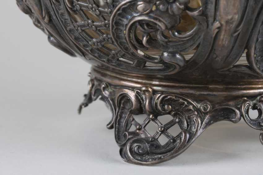 Openwork vase, silver of 800 Lazarus Posen, - photo 3