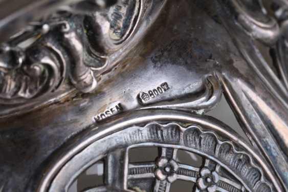 Openwork vase, silver of 800 Lazarus Posen, - photo 4