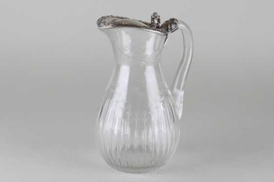 Jug with silver lid. France. - photo 1