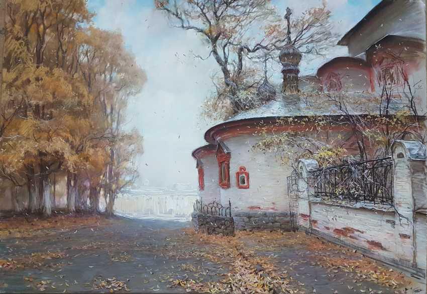 """Nikolai Vryasov. """"Khitrovskaya lane"""" """"Khitrovsky Lane"""" - photo 1"""