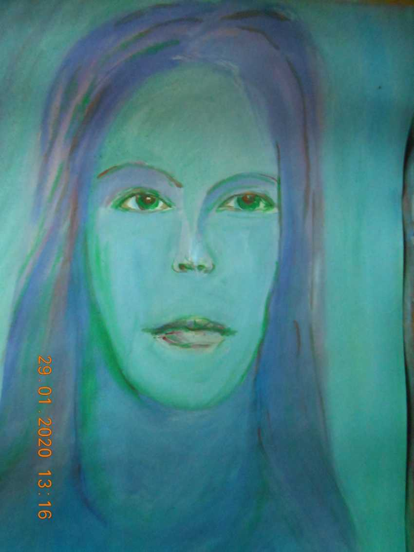 Igor Behter. Woman with green eyes - photo 1