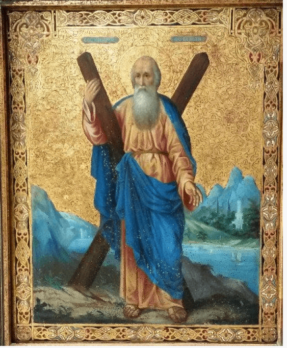 Icon of St. Andrew the XIX-th century - photo 1