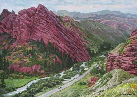 "Alexander Samokhvalov. ""Red mountain"" - photo 1"
