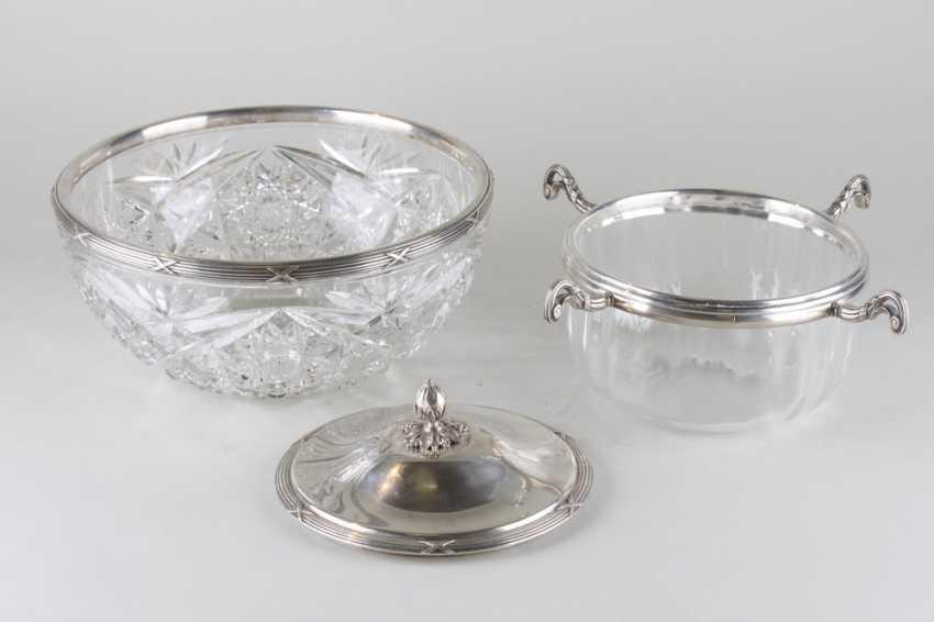 Large vase caviar. France, 1900-ies - photo 2