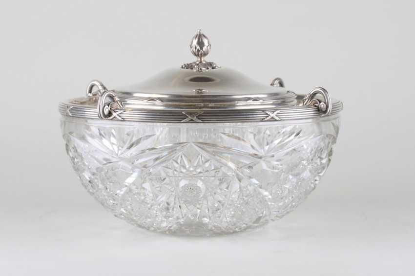 Large vase caviar. France, 1900-ies - photo 3