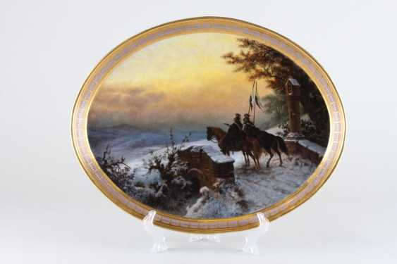 Dish. KRM, 1840-ies. - photo 1