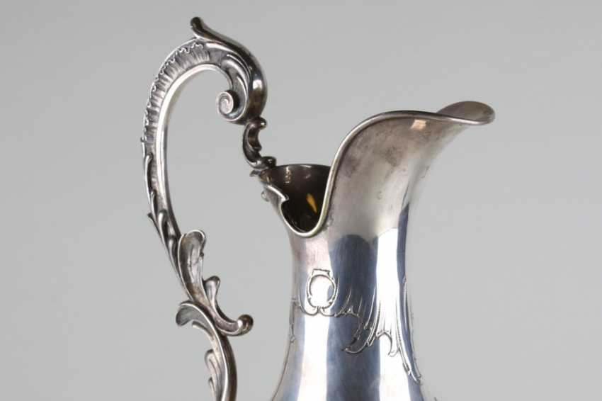 Large silver pitcher - photo 2
