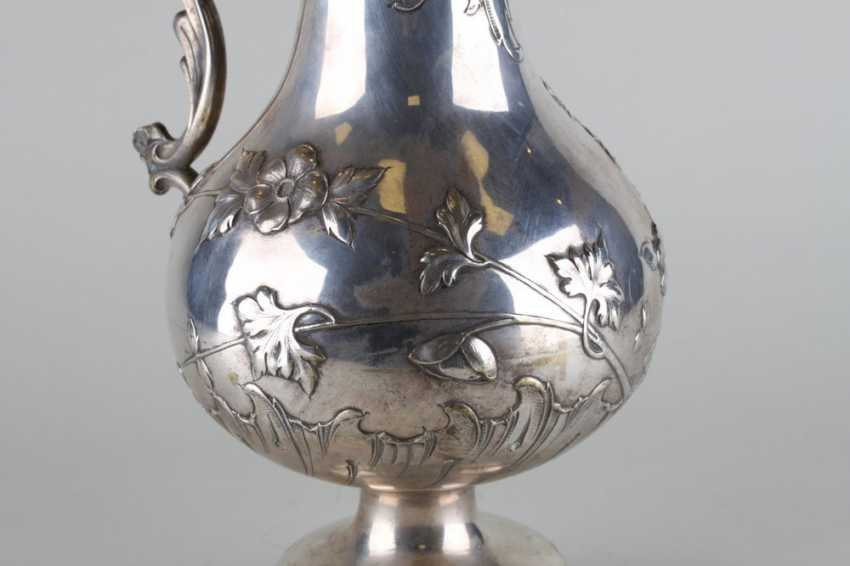 Large silver pitcher - photo 4