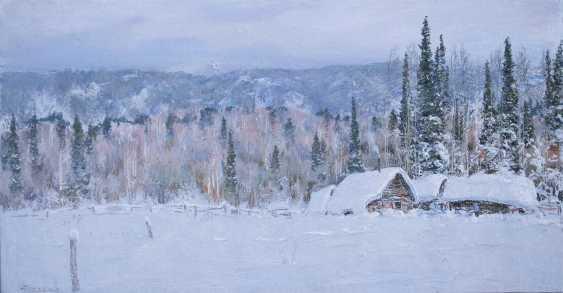 "Nikolai Vryasov. ""In a snowdrift"" , ""In the snow captivity"" - photo 1"