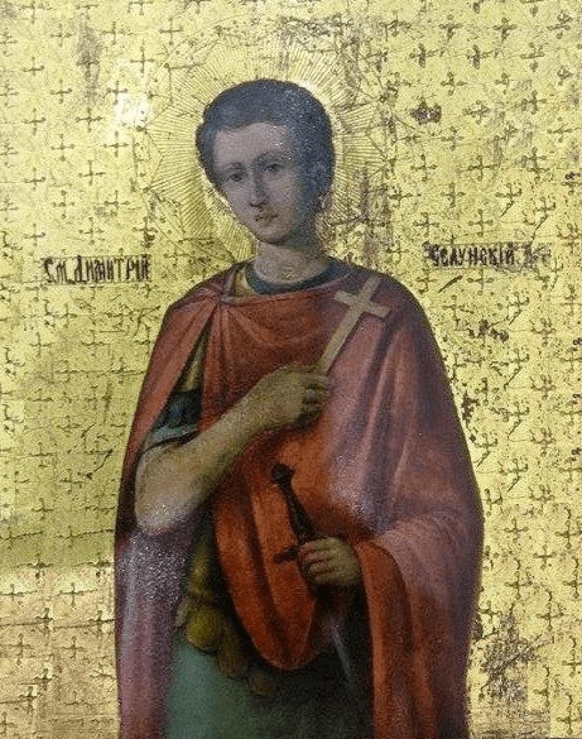The Icon Of St. Demetrius XIX-th century - photo 1