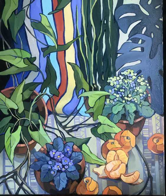 "Olga Gileva. ""Flowers and tangerines"" - photo 1"