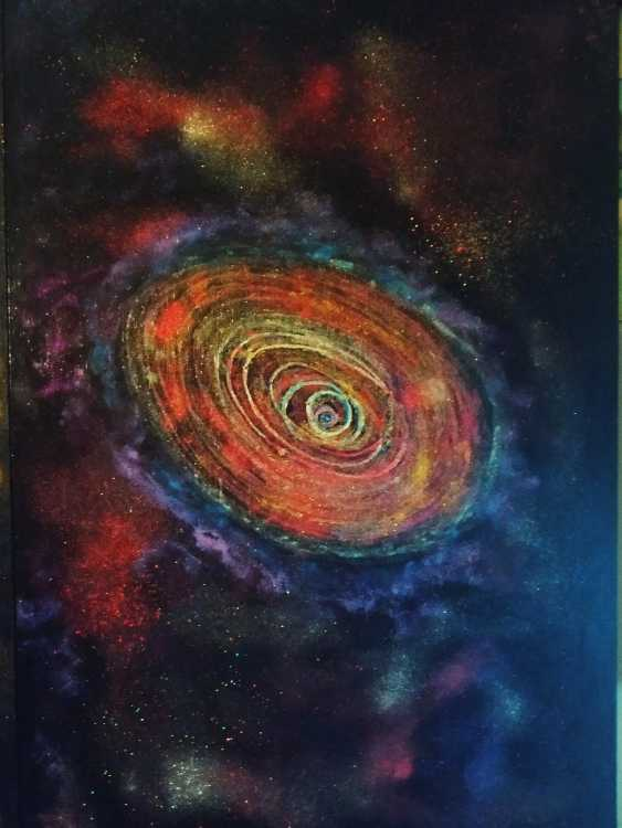 Tahir Tashev. The universe of time spiral(halo of the galaxy) - photo 4