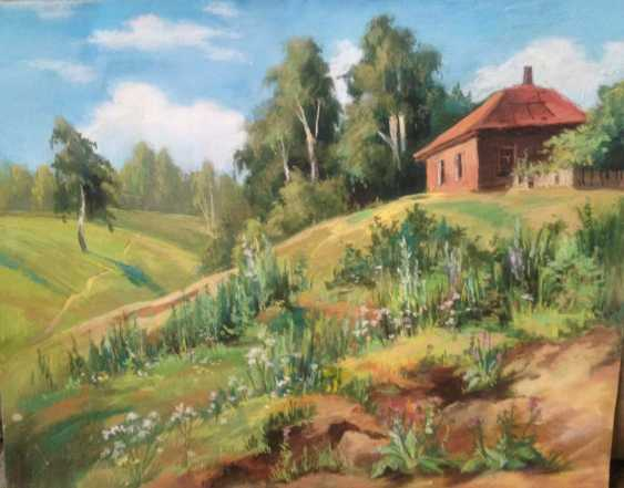 """Olga Gileva. """"House with red roof"""" - photo 1"""