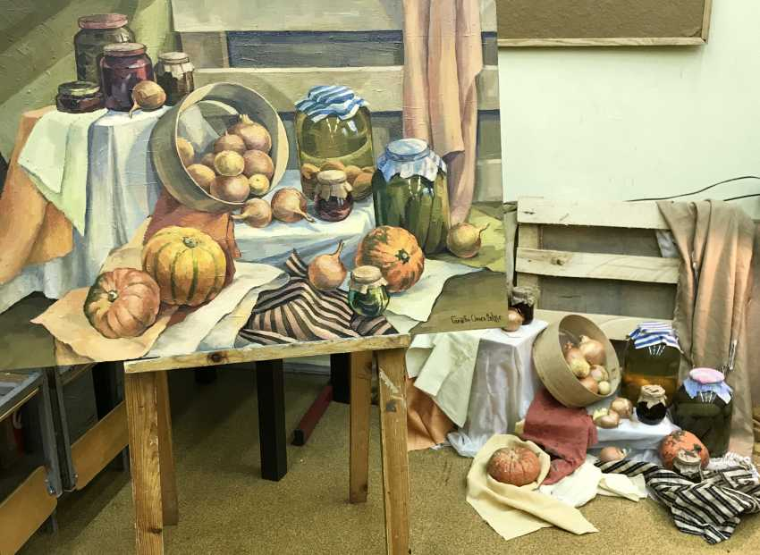 """Olga Gileva. """"Autumn still life"""" - photo 2"""