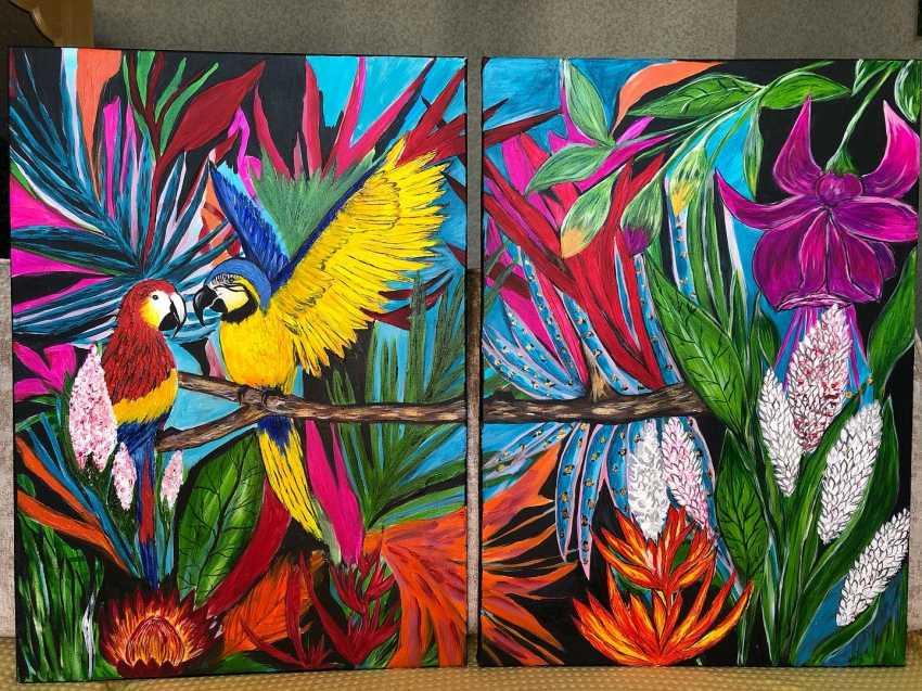 Alena Troshina. Parrots - photo 1