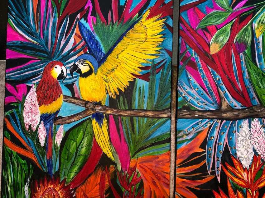 Alena Troshina. Parrots - photo 3