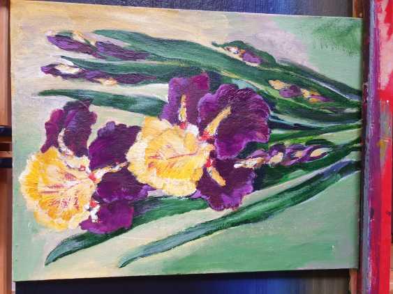 Maria Banachewicz. Irises in bloom - photo 2