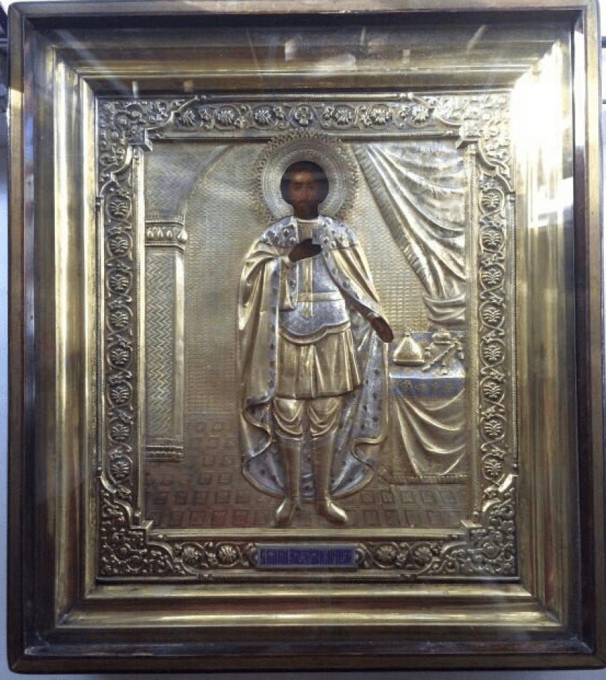 The Icon Of St. Prince Alexander Nevsky 19th century - photo 2