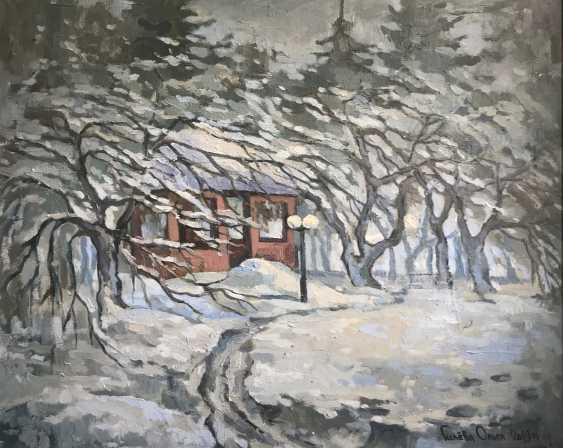 """Olga Gileva. """"Winter day. Povedniki"""" - photo 1"""
