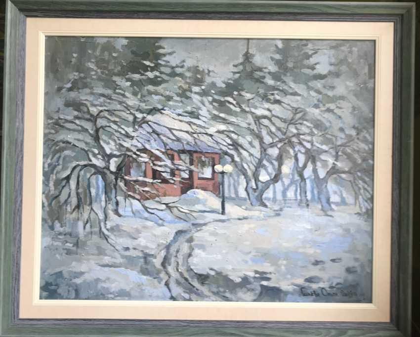 """Olga Gileva. """"Winter day. Povedniki"""" - photo 2"""