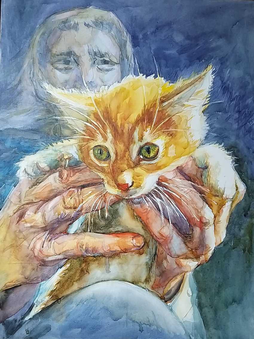 """Olga Kiryakova. """"Adopt a kitten"""" - photo 1"""
