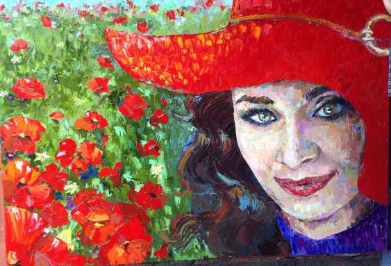 Olga Chistyakova. Jane in poppy field - photo 1
