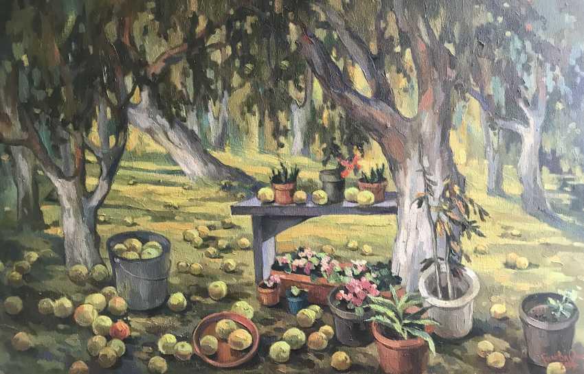 """Olga Gileva. """"Autumn. Apples."""" - photo 1"""