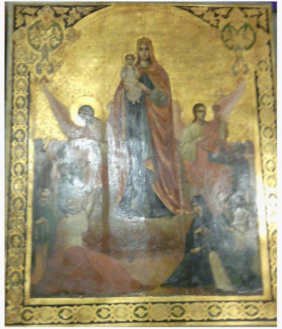 Icon mother of God 19 century - photo 1