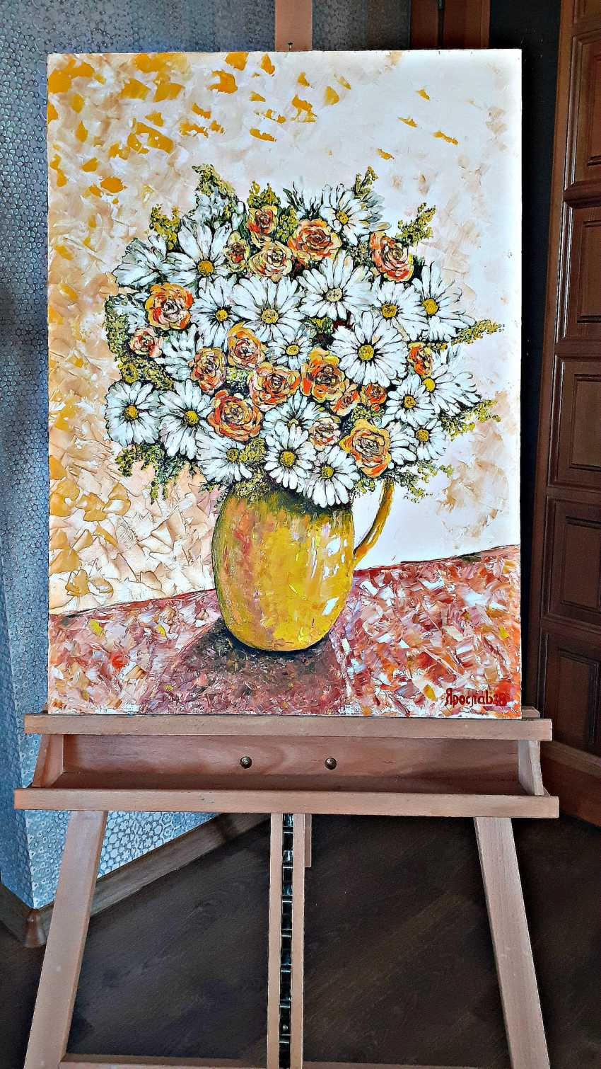 Vyacheslav IG. Garden flowers in a vase - photo 7