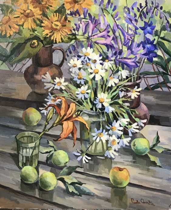 "Olga Gileva. ""Flowers and apples"" - photo 1"