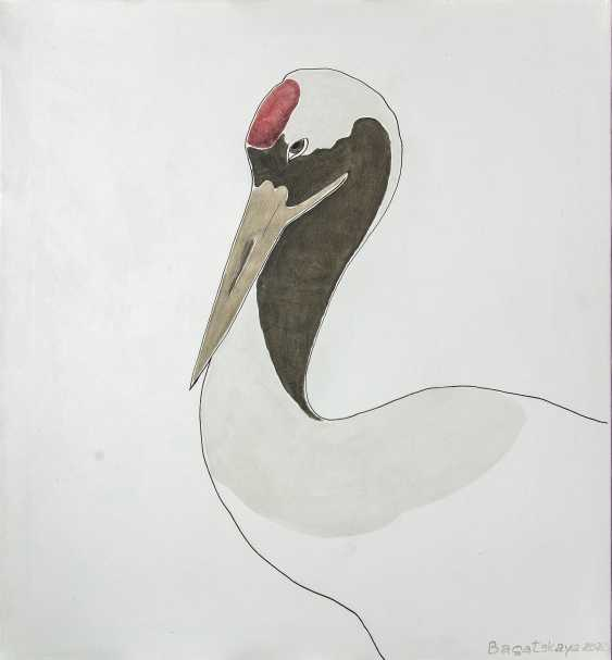Nataliia Bahatska. Red-crowned Сrane - photo 1
